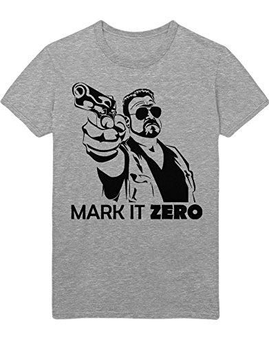 T-Shirt Mark It Zero Walter Sobchak Big Lebowski C112258 Grau L -