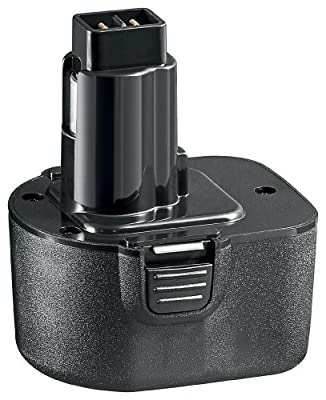 Goobay 46504 Bohrmaschinenakku für Black und Decker PS130, PS130A, A9252, A9275, 12V, 1500 mAh NiCd