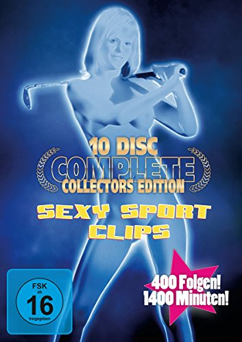 sexy sport clips complete collector 39 s edition 10 dvds. Black Bedroom Furniture Sets. Home Design Ideas