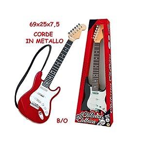 Chitarra Elettrica 6 Corde In Metallo - 8 melodie