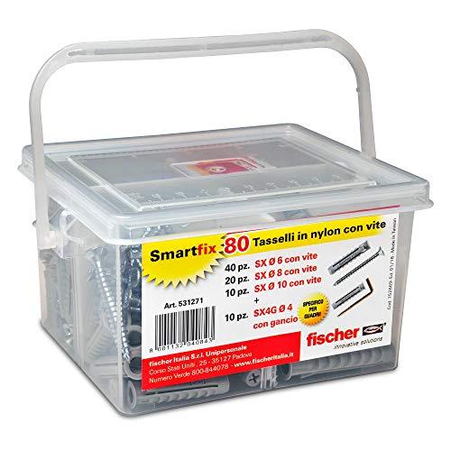 Fischer 531271Kit SmartFix Box tacos tornillo