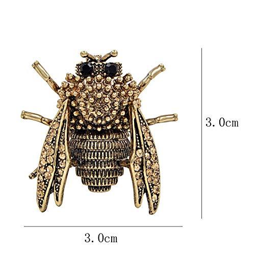 ederstift Brosche für weibliche Kakerlake Käfer Brosche Farbe erhältlich Jahr ()