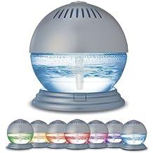 Luftreiniger und Ionisator von Sentik/® mit farbwechselndem LED-Licht und 3/D/üften