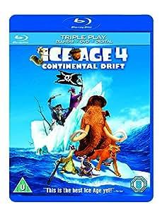 Ice Age 4: Continental Drift - Triple Play (Blu-ray + DVD + UV Copy)