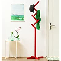Coat stand Solid Wood Multifunction Bedroom Living Room Hall Hangers Floor-standing Children