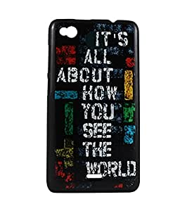 Exclusive Design Hard Back Case Cover For Gionee Elife E3 - Thought
