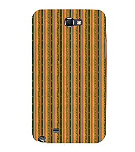 Decorative Line Pattern 3D Hard Polycarbonate Designer Back Case Cover for Samsung Galaxy Note 2 :: Samsung Galaxy Note 2 N7100