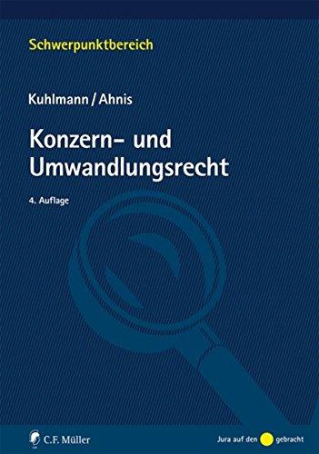 Konzern- und Umwandlungsrecht (Schwerpunktbereich)