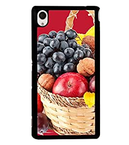 Fruit Basket 2D Hard Polycarbonate Designer Back Case Cover for Sony Xperia M4 Aqua :: Sony Xperia M4 Aqua Dual