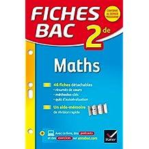 Fiches bac Maths 2de : fiches de révision Seconde