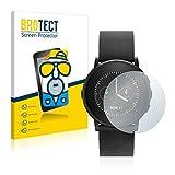 BROTECT Entspiegelungs-Schutzfolie kompatibel mit Pebble Time Ro& (2 Stück) - Anti-Reflex, Matt