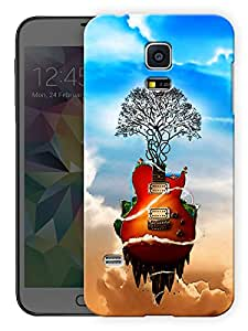 """Humor Gang Guitar Is Life - Music Printed Designer Mobile Back Cover For """"Samsung Galaxy S5"""" (3D, Matte Finish, Premium Quality, Protective Snap On Slim Hard Phone Case, Multi Color)"""