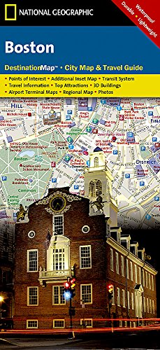 Boston: 1:11250 (National Geographic Destination City Map)