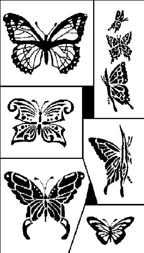 armour-products-plastic-rub-n-etch-designer-stencil-5-inch-x-8-inch-butterflies