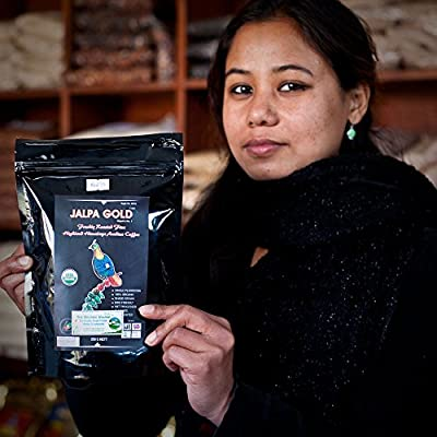Organic Arabica Espresso Coffee Beans Medium Roasted - Jalpa Gold by Jalpa Gold