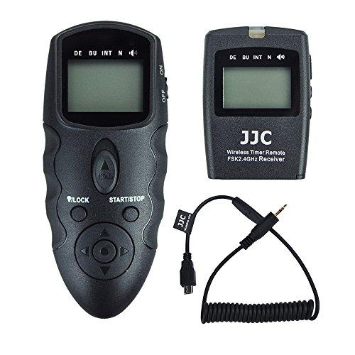 JJC Timer Funk-Fernauslöser für Fujifilm X-T2 X-Pro2 X-T1 X-T10 X-E2S X-E2 X-A3 X100T X-M1 X-A2 X-A1 XQ2 XQ1 X70 X30 FinePix S1
