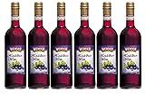 WERDER 6 x Heidelbeer Wein 0,75 l Alk. 9 % vol