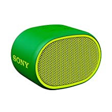 Sony SRS-XB01 Compact Portable Water Resistant Wireless Bluetooth Speaker with Extra Bass - Green