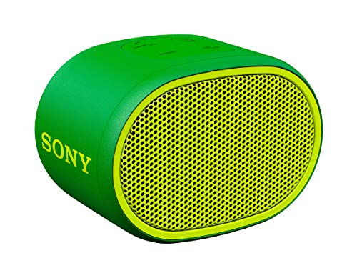 Sony SRSXB01G - Altavoz inalámbrico portátil (Compacto, Bluetooth, Extra Bass, 6h de...