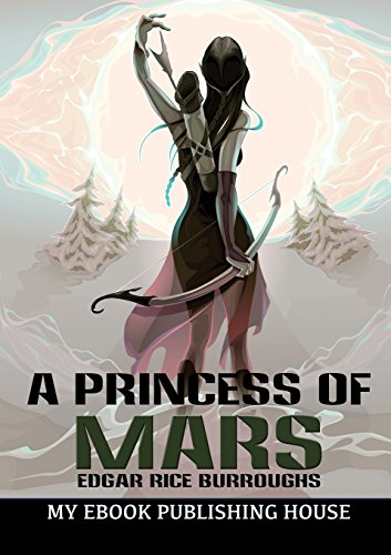 Book cover for A Princess of Mars