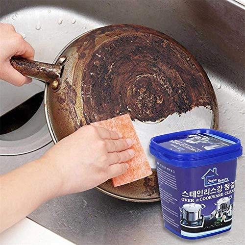 Following pasta detergente per acciaio inossidabile detergente multiuso detergente domestico per ruggine impregnante per rimozione professionale pasta detergente per rame per acciaio lovable