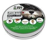 Wiser Pet Collar de pulgas Natural para Perros pequeños, Evita y controla Las pulgas y los Insectos, sin químicos ni toxinas, Seguro para Mascotas y Familia, de Larga duración hasta 180 días.
