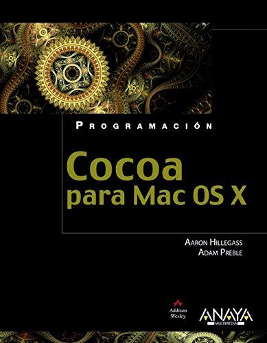 Portada del libro Cocoa para Mac OS X (Programación)