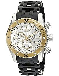 Invicta 10250 Sea Spider Reloj para Hombre acero inoxidable Cuarzo Esfera plata