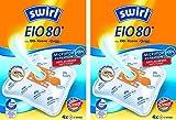 8 Original SWIRL EIO80 Staubsaugerbeutel für Privileg 269 947