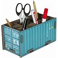 """Werkhaus - Stiftebox """"Container"""" in Türkis (CO1013)"""