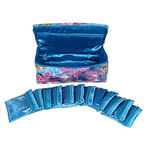 RICHPIKS Blue Jewelry kit / locker kit with 10 pouches (PI271)