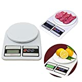 PETRICE New Digital Kitchen Scale Electronic Digital Kitchen Weighing Scale 10 Kgs Weight Measure Spices Vegetable Liquids