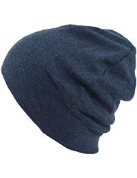 Casualbox Hombre Hecho en Japón Orgánico Tejido Gorrita Sombrero Flojo Caliente Invierno