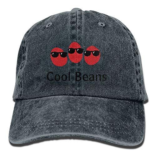 AOHOT Herren Damen Baseball Caps,Hüte, Mützen, Classic Baseball Cap, Cool Coffee Beans Denim Hat Adjustable Women Dad Baseball Hats