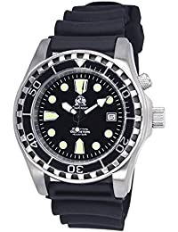 Professionall diver watch with sapphire glass and helium velve T0258