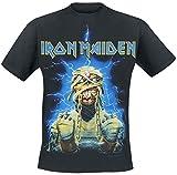 Iron Maiden Powerslave Mummy T-Shirt schwarz L