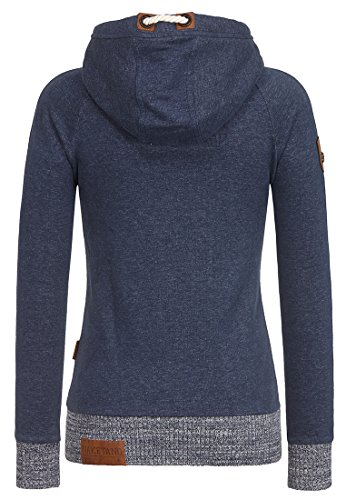 Naketano Female Zipped Jacket Superpollen Indigo Shizzle
