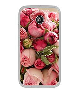 PrintVisa Designer Back Case Cover for Motorola Moto E :: Motorola Moto E XT1021 :: Motorola Moto E Dual SIM :: Motorola Moto E Dual SIM XT1022 :: Motorola Moto E Dual TV XT1025 (Beautiful roses Beautiful nature)