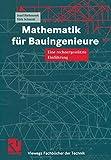 Mathematik für Bauingenieure. Eine rechnergestützte Einführung (Viewegs Fachbücher der Technik) - Josef Biehounek, Dirk Schmidt