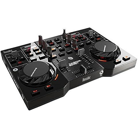 Hercules 4780730 - Consola DJ (procesador mínimo 1.5 GHz+, memoria interna, mínimo 1024 MB RAM), color negro
