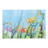 Non-Woven Wallpaper - Matilda The Mermaid Princess - Mural Wide