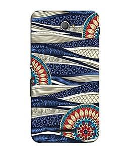 Fuson Designer Back Case Cover for Sony Xperia E4 :: Sony Xperia E4 Dual (floral design Leo zodiac sign )