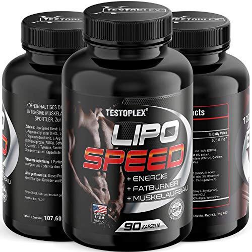 Lipo Speed Ultra Concentrate, Fettabbau, Appetithemmer, Farburner, Diät, Endlich Abnehmen, 24h Fatburner Kapseln - der Turbo für deinen Stoffwechsel! Natürlich abnehmen - -
