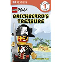 Lego Pirates Brickbeard's Treasure (DK Readers: Level 1)