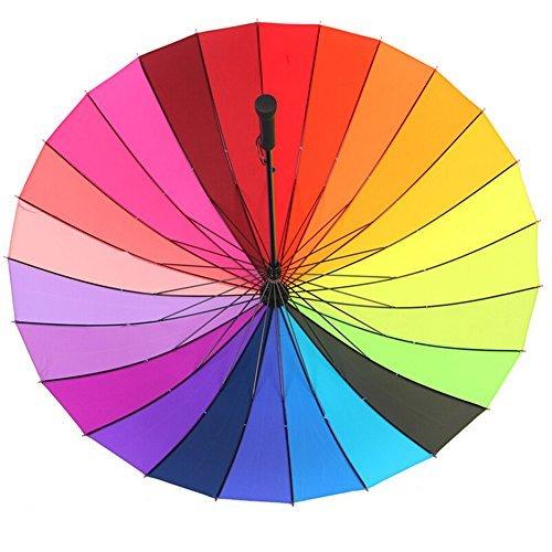 Große Umberlla leayao Rainbow Hochzeit/Fotografen Golf umbrella-multi-coloured, - Für Fotografen Regenschirm