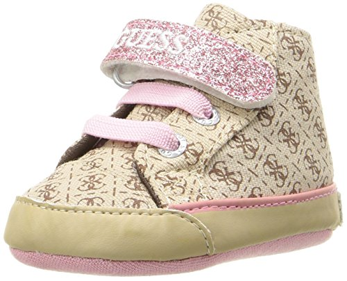 Guess Unisex-Baby 0-24 Filona3 Fal12 Babyschuhe Beige (Beige/Light Brown)
