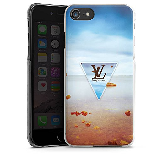 Apple iPhone X Silikon Hülle Case Schutzhülle Urlaub Strand spruch Hard Case transparent