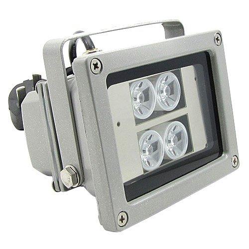 SC2000 40M Wasserdicht IR Scheinwerfer IR Strahler Nachtsicht Lampe für Überwachungskamera - Test-licht-schalter