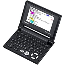 Casio EW-G570C Elektronisches Wörterbuch Deutsch, Englisch, Französisch, Spanisch, Latein, schwarz