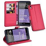 HTC Desire 816 Hülle in ROT von Cadorabo - Handy-Hülle